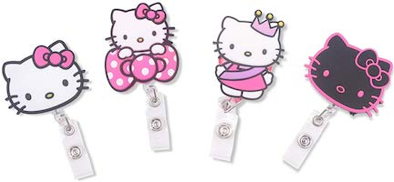 Hello Kitty ID Badge Holders