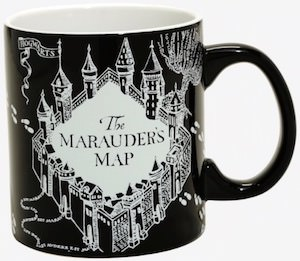 The Marauder's Map Glow In The Dark Mug