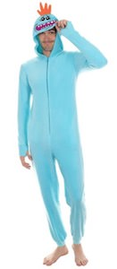 Rick And Morty Mr. Meeseeks onesie costume pajama