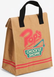 Riverdale Pop's Chock'lit Shoppe Lunch Bag