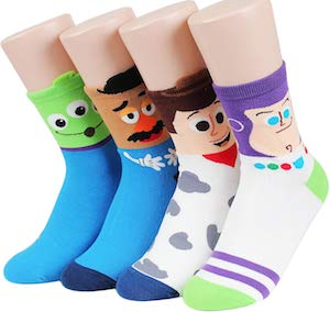 Women's Toy Story Socks (4 Pairs)