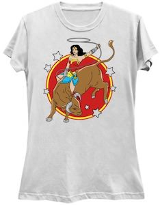 Wonder Woman Rodeo T-Shirt