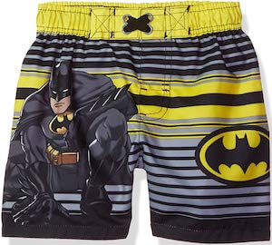 Batman Striped Toddler Swim Shorts