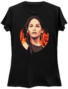 The Hunger Games Katniss The Girl On Fire T-Shirt