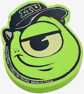 Monsters University Mike Wazowski Eraser