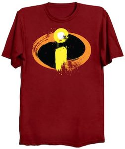Painted Incredibles Logo T-Shirt