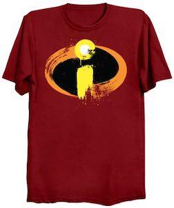 Painted Incredibles Logo T-Shirt