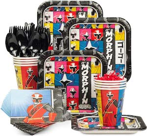 Power Rangers Party Supplies Set