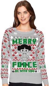 Star Wars Princess Leia Christmas Sweater