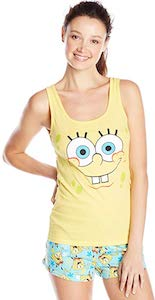 Women's SpongeBob Pajama Set