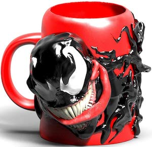 3D Sculpted Venom Mug