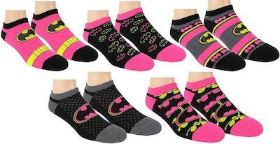 Women's Batman Socks In 5 Fun Designs