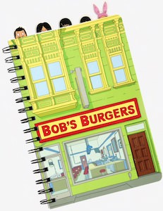 Bob's Burgers Restaurant Journal