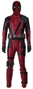 Deadpool Body Suit And Mask Costume (1)