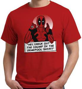 Deadpool Check Out The Chump T-Shirt