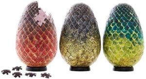 Game Of Thrones 3D Dragon Eggs Jigsaw Puzzles