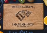 Game Of Thrones Personalized Cutting Board