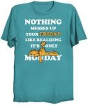 Garfield Messed Up Friday T-Shirt