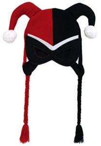Harley Quinn Mask Peruvian Knit Hat