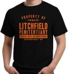 Orange Is The New Black Litchfield Penitentiary T-Shirt