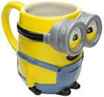 Minion 3D Sculpted Ceramic Mug