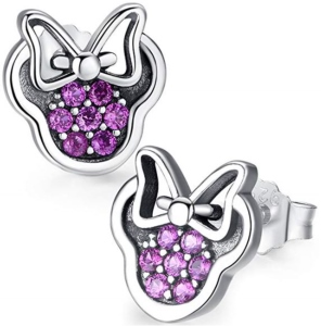 Minnie Mouse Sparkle Earrings