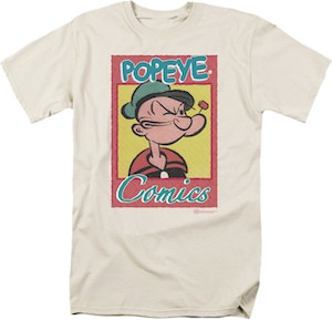 Popeye Comics T-Shirt