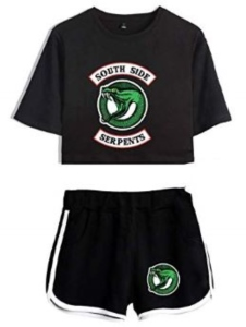Southside Serpents Crop Top And Shorts