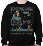 Star Trek Gift Long And Prosper Christmas Sweater
