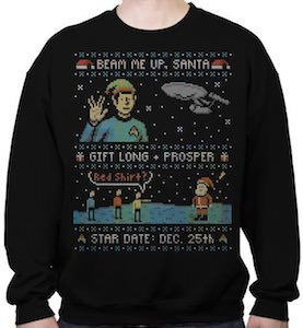 Star Trek Gift Long And Prosper Christmas Sweater