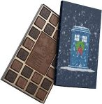 Dr. Who Tardis Holiday Chocolates