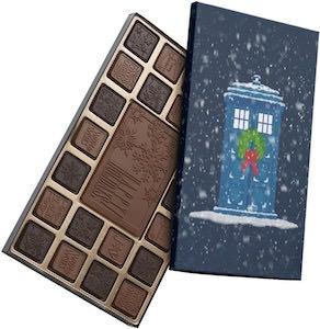 Dr. Who Tardis Holiday Chocolates