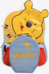 Winnie the Pooh Backpack With Lunch Box