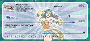 Wonder Woman Personal Checks