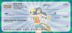 Wonder Woman Personal Checks