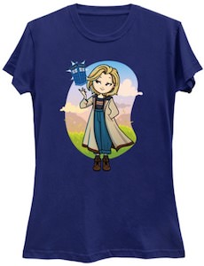 Cute Female Doctor Who T-Shirt