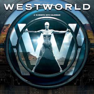 2019 Westworld Wall Calendar
