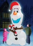 Frozen 8 Feet Christmas Olaf Inflatable