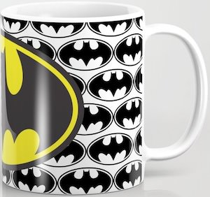 Many Batman Logo's Mug