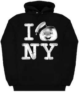 Ghostbusters I Love New York Hoodie