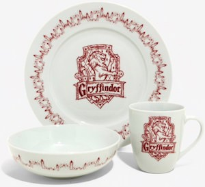 Harry Potter Gryffindor Dinnerware Set