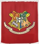The crest of Hogwarts Shower Curtain