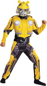 Transformers Kids Bumblebee Costume