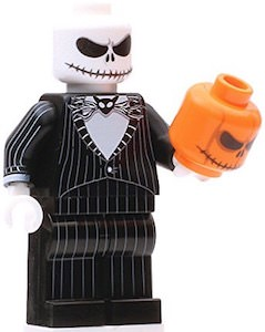 LEGO Jack Skellington Figure