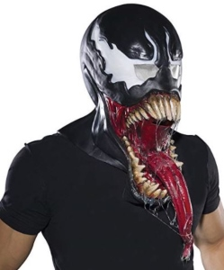 Marvel Venom Costume Latex Mask
