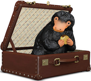 Niffler In Suitcase Christmas Ornament