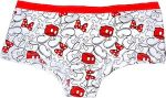 Disney Parts of Mickey Mouse Panties