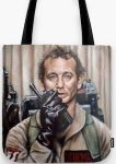 Peter Venkman Tote Bag from Ghostbusters
