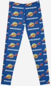 Spaceship Spaceship LEGO Movie Leggings