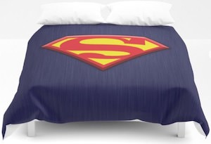 Superman Logo Duvet Cover